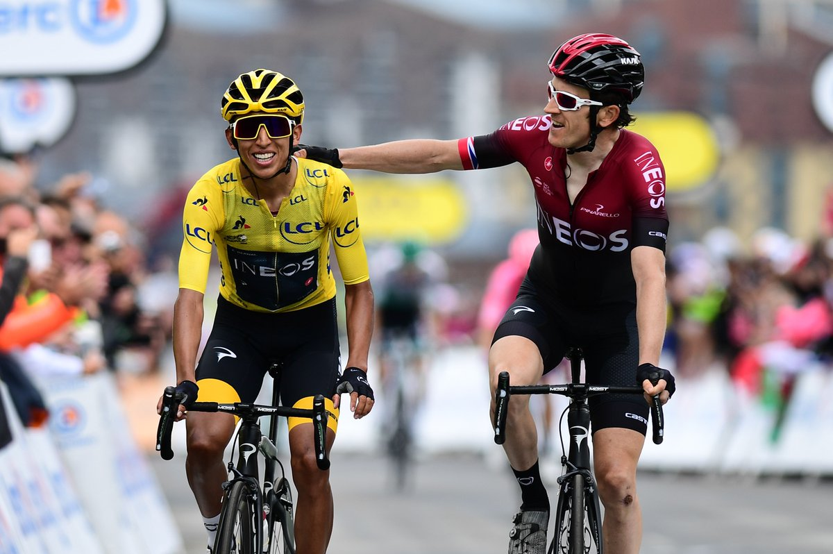 Egan Bernal poursuit l'hégémonie