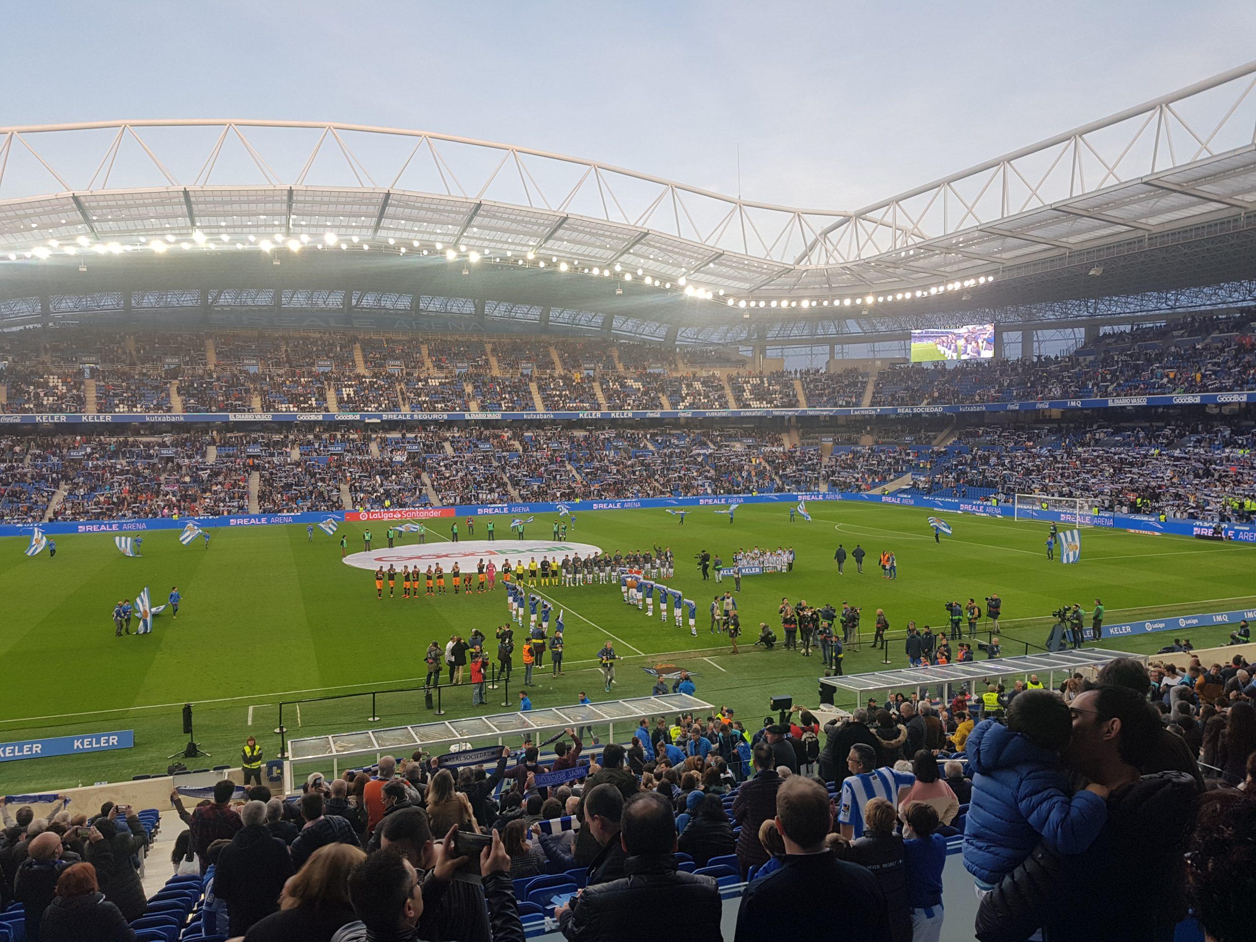 À la découverte de la Real Sociedad et du stade d'Anoeta
